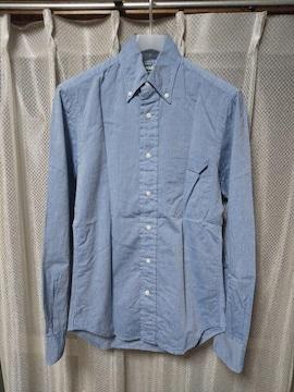 GITMAN BROS.  vintage ギットマン 長袖シャツ XSサイズ ライトブルー 青 USA製