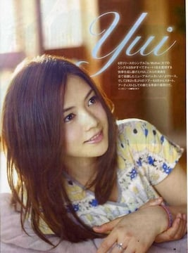 YUI HOLIDAYS IN THE SUN 非売冊子