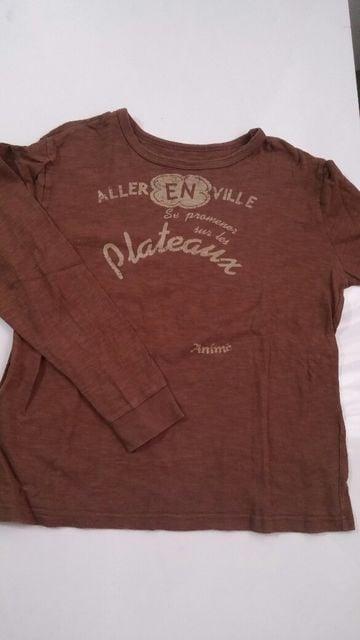 フェリシモ 古着屋さん 長袖Tシャツサイズ:LL  < ブランドの