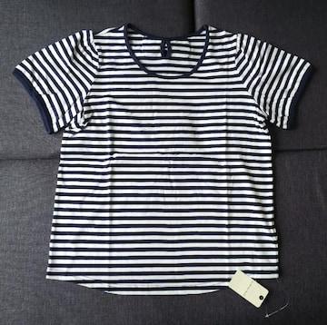 LL★OLIVE des OLIVE★ボーダー半袖Tシャツ★大きいサイズ