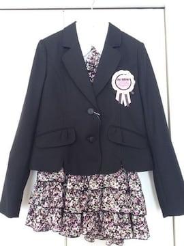 新品★卒業式 Mc Sister フォーマル スーツ 4点  165