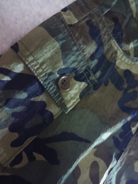 ●BACK ALLEY● 迷彩ガラ スカート 110 美品 < ブランドの