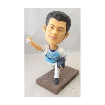 DeNA三浦大輔監督 首振り人形 2015選手時代 未開封