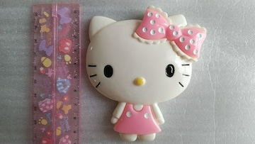 ☆BIGパーツ☆BIGフェイスキティー☆ピンク☆