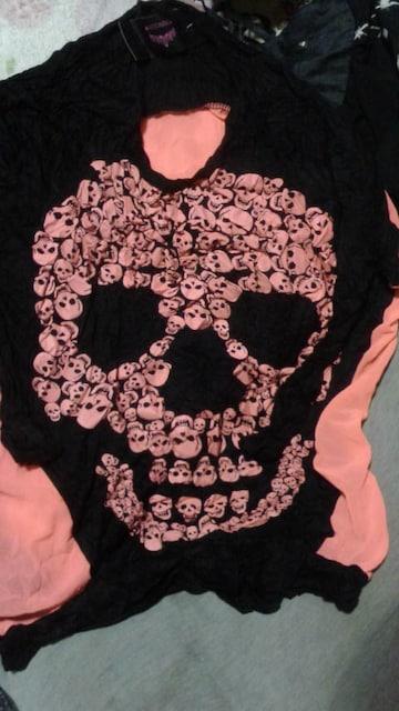 新品タグなし未使用品デカドクロ長袖2色セット < 女性ファッションの