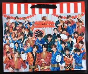 ジャニーズJr★ジャニーズjr祭り グッズ ショッピングバッグ