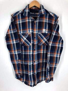 RAZZIS(ラズ)チェック柄 コットンシャツシャツ