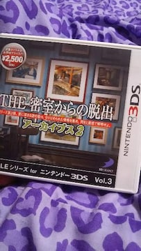 3DSソフト。密室からの脱出2