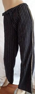 DOUBLE STANDERD CLOTHING ストライプ ワイド パンツ
