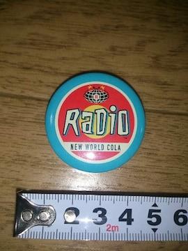 ★RADIO★缶バッチ★レア★レトロ