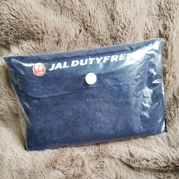 【JAL DUTY FREE★携帯用枕】非売品♪コンパクト♪旅行に♪