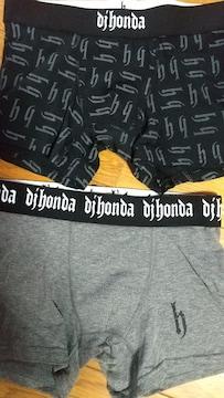 Mサイズ2枚組ブランド品Djhonda!ディージェホンダ!立体前閉じボクサーブリーフ!