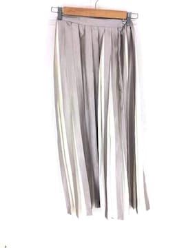 Ameri VINTAGE(アメリヴィンテージ)COLOR STRIPE PLEATS SKIRTフレアスカート