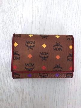 MCM(エムシーエム)コニャック二つ折り財布