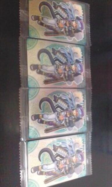 未開封神羅万象チョコレアカード第2章No055メルフィス/四枚まとめ売り  < トレーディングカードの