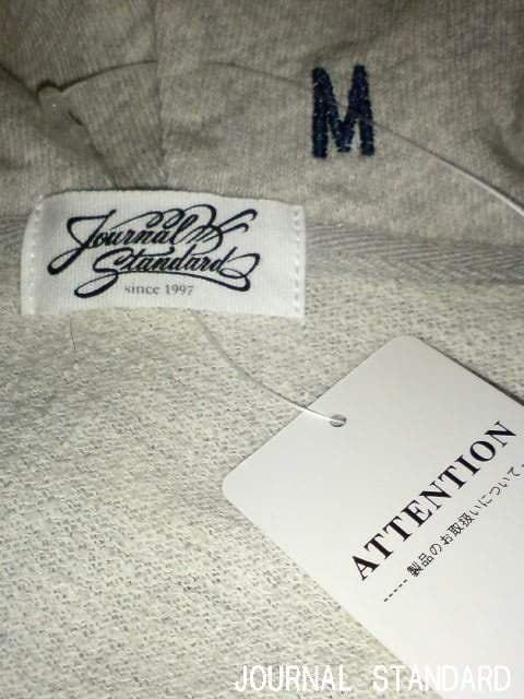 □JOURNAL STANDARD/ジャーナルスタンダード 七分袖 パーカー/メンズ・M☆新品 < ブランドの