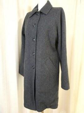 【ロートレアモン】【未使用品】ボア付きウールコート