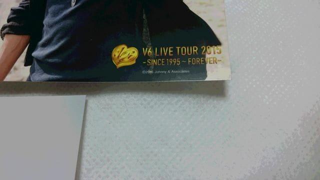 *☆V6☆LIVE TOUR 2015ーSINCE1995〜FOREVERー♪森田剛フォト5枚! < タレントグッズの