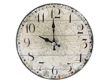 卓上 ガラス 時計 置時計 掛け時計