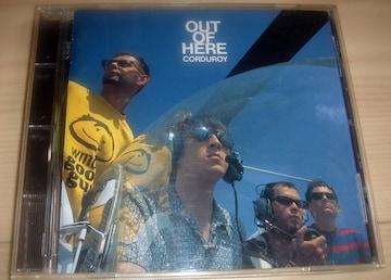 Corduroy コーデュロイ Out of Here 人気盤 CD 国内盤 Acid Jazz