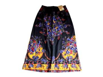 新品 定価3500円 chubabu 花柄 ボタニカル  スカート