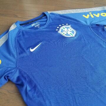 ★NIKE製 ブラジル代表オーセンティックトレーニングシャツ