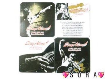 【Stay Alive/長渕剛】アリーナツアー2012デザインコースター(4枚入り)