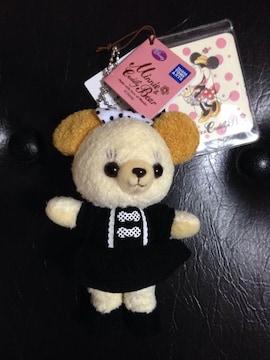 ミニー&カドリーベア☆モノクロリボンワンピース☆新品未使用