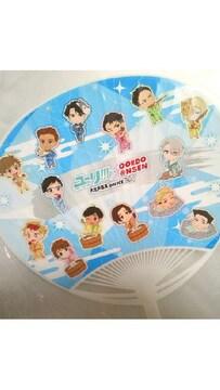 ユーリ!!! on ICE 大江戸温泉物語 ミニキャラ うちわ