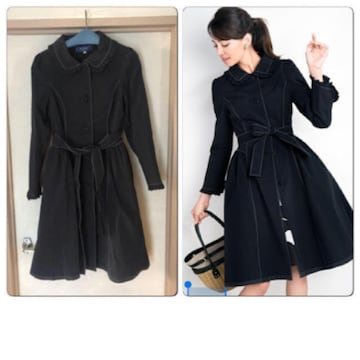 M'S GRACY エムズグレイシー Elegant Dress Coat