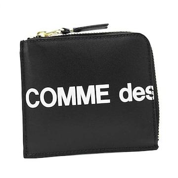 ◆新品本物◆コムデギャルソン HUGE LOGO 小銭入れ(BK)『SA3100HL』