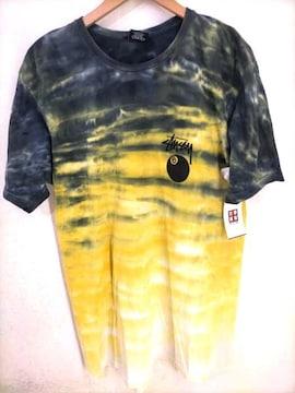 Stussy(ステューシー)タイダイ柄 8ボール 8BallクルーネックTシャツ