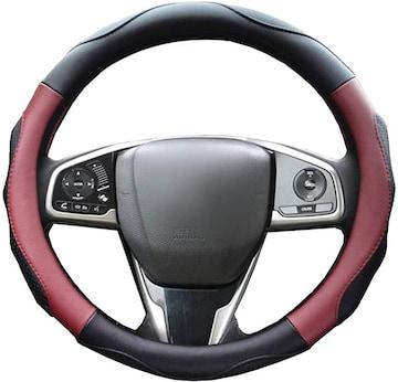 ハンドルカバー 軽自動車 ステアリングカバー sサイズ 3D