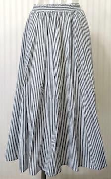 サマンサモスモス★ストライプ柄 ロングスカート