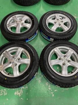1082739新品国産グッドイヤ-スタッドレスタイヤアルミホイ-ルセット145/80R13送料無料