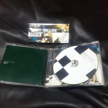 GLAY/ONE LOVE     CD アルバム