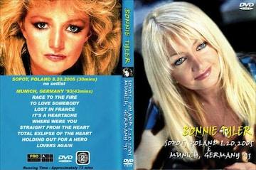 BONNIE TYLER ボニータイラー ベストライブ 2005 & 1993