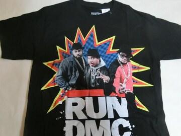 80年代 ヒップホップ ラップグループ【RUN D.M.C.】TシャツUS M