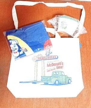 マクドナルド 福袋 2020年 完売タオル デリカップ トートバッグ