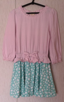 HUSHUSH☆春物ワンピース☆size120