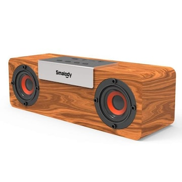 10W木製ワイヤレススピーカー