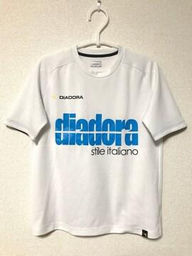 ディアドラ DIADORA Tシャツ Sサイズ ホワイト