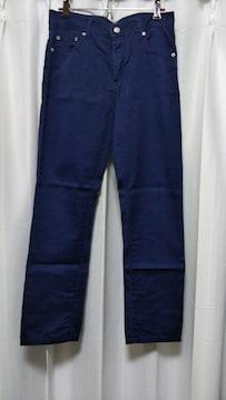 中古  カラーパンツ  紺 『70�p』