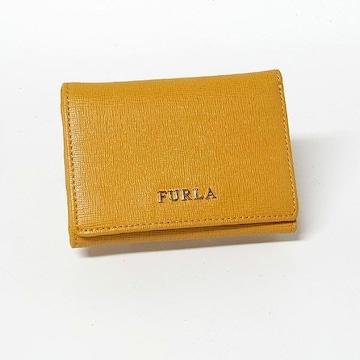 【フルラ/FURLA】3つ折りコンパクト財布 コインポケット付き