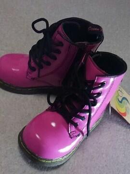 *Op*オーシャンパシフィック キッズ*  pinkブーツ  16  新品