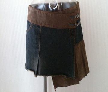 SHELL RAY★ アシメ 巻きスカート