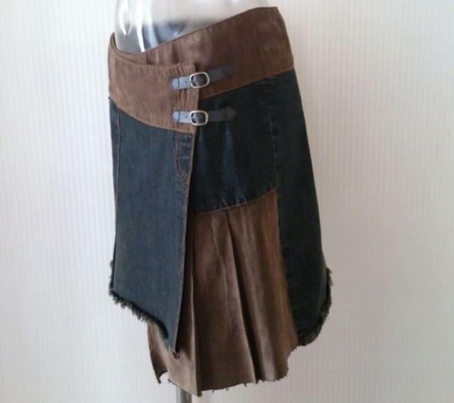 SHELL RAY★ アシメ 巻きスカート < ブランドの
