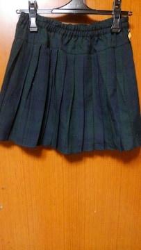 �A格子柄のスカート