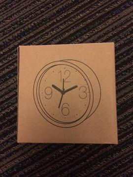 ナノユニバース 時計 新品 未使用 ブラック 置き時計