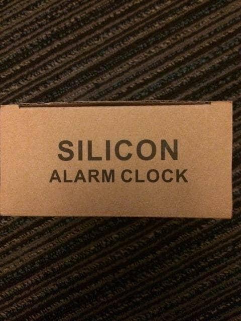 ナノユニバース 時計 新品 未使用 ブラック 置き時計 < ブランドの